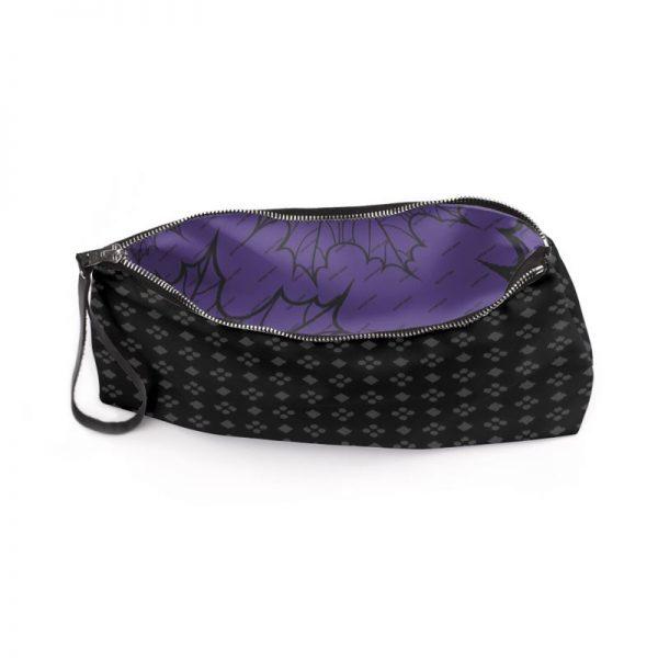 antony yorck business clutch tasche charlotte pattern print purple black white 135120 03