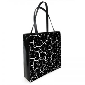 Antony Yorck Shoulder Bag mit Craqulee Muster Vorderseite 130992