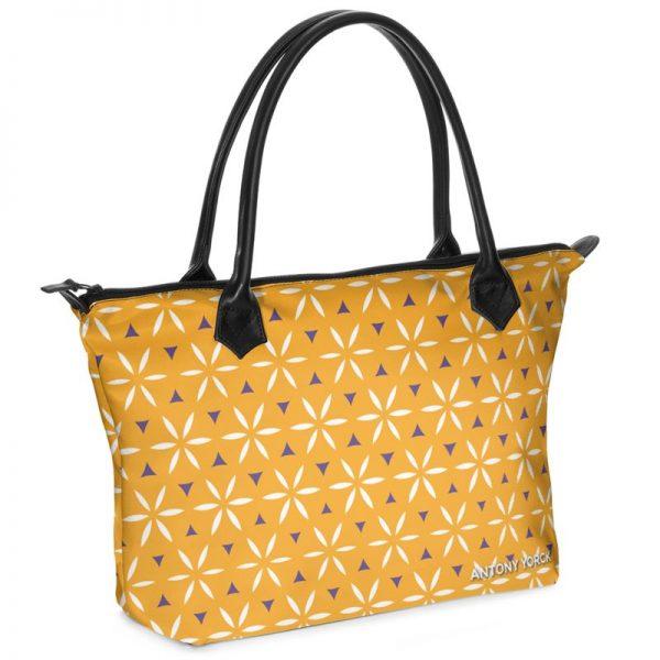 antony yorck shopper tasche vivalifa citrus floral pattern print style purple white yellow 140511 01