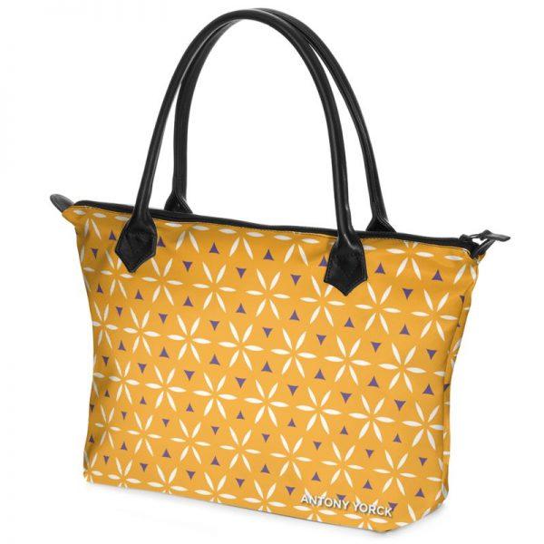 antony yorck shopper tasche vivalifa citrus floral pattern print style purple white yellow 140511 02