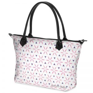 antony yorck shopper tasche vivalifa floral pattern print style pink purple white 137779 02