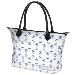 antony yorck shopper tasche vivalifa floral pattern print style purple blue white 140909 02