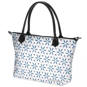 antony yorck shopper tasche vivalifa floral pattern print style purple blue white 141193 02