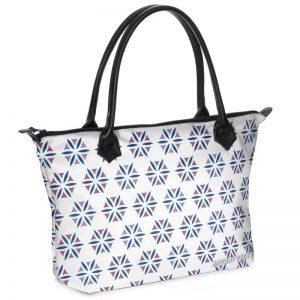 antony yorck shopper tasche vivalifa floral pattern print style purple blue white 141202 01