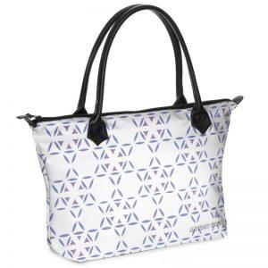 antony yorck shopper tasche vivalifa floral pattern print style purple white 138376 01