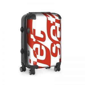 antony yorck trolley suitcase airplane hand luggage jet set red white black 144513 01