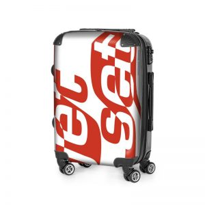 antony yorck trolley suitcase airplane hand luggage jet set red white black 144513 02