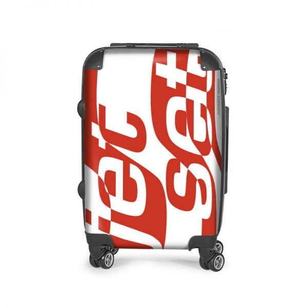 antony yorck flugzeug handgepaeck vier rollen koffer trolley jet set red 144513 03
