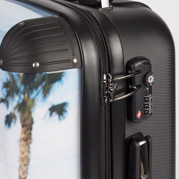 antony yorck trolley suitcase airplane hand luggage jet set series lock detail 06
