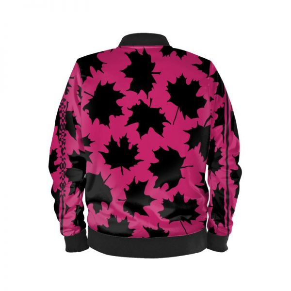 antony yorck blouson bomberjacke ml 006 maple leaf magenta black 161057 02
