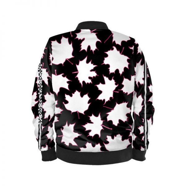 antony yorck blouson bomberjacke ml 007 maple leaf magenta white black 161325 02