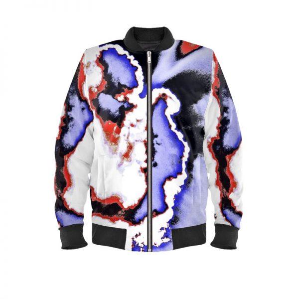 antony yorck ladies bomberjacke blouson bomber jacke jacket waterproof sky modern art color 160085 01