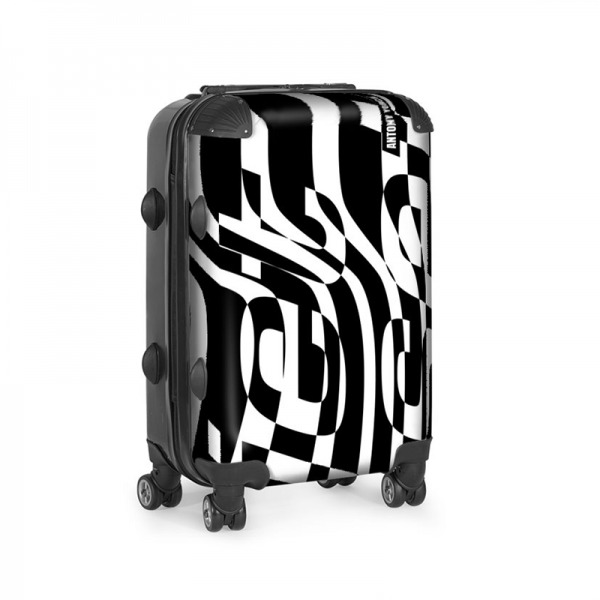 antony yorck trolley rollkoffer jet set black carry-on baggage luggage