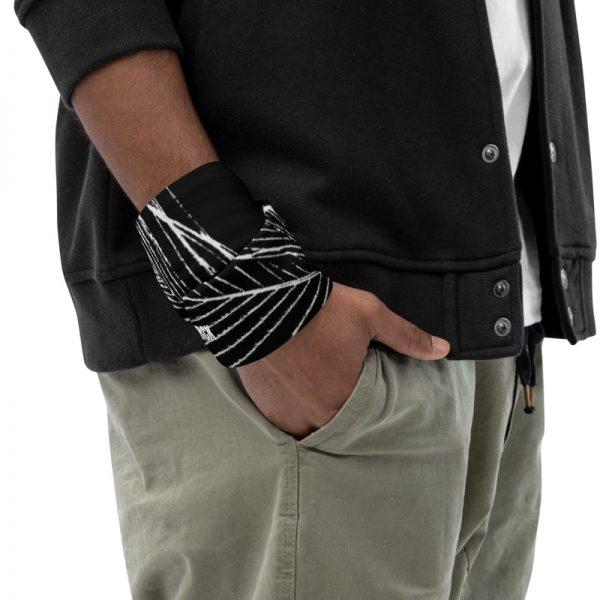 Schlauchschal Pfauenfeder in schwarz weiß 6 antony yorck multifunktionstuch schlauchtuch schlauchschal 0017