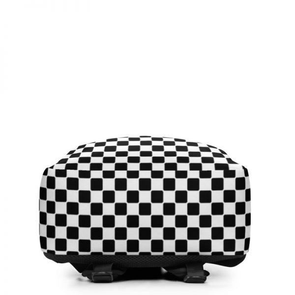 Rucksack Caro Pattern mit Geheimfach collection TOBUSY 4 antony yorck rucksack backpack caro patternschwarz weiss angebot 0007