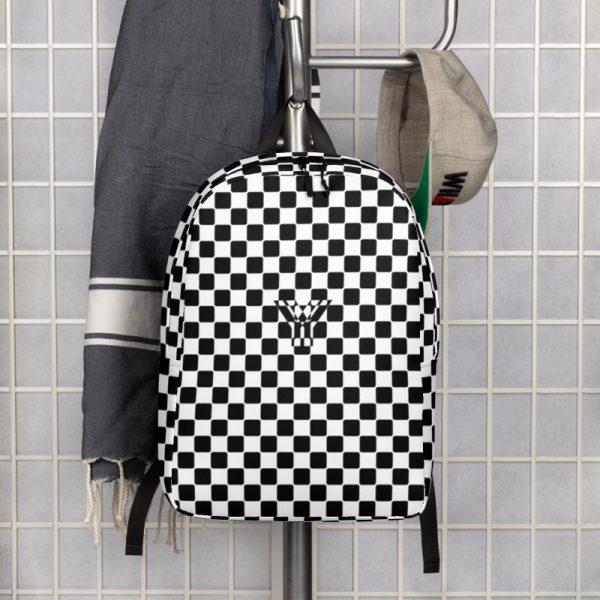 Rucksack Caro Pattern mit Geheimfach collection TOBUSY 6 antony yorck rucksack backpack caro patternschwarz weiss angebot 0010