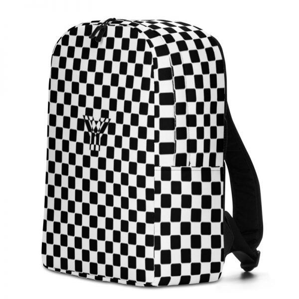 Rucksack Caro Pattern mit Geheimfach collection TOBUSY 2 antony yorck rucksack backpack caro patternschwarz weiss angebot 0012