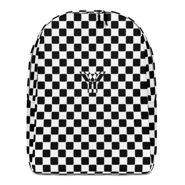 Rucksack Caro Pattern mit Geheimfach collection TOBUSY 1 antony yorck rucksack backpack caro patternschwarz weiss angebot 0013
