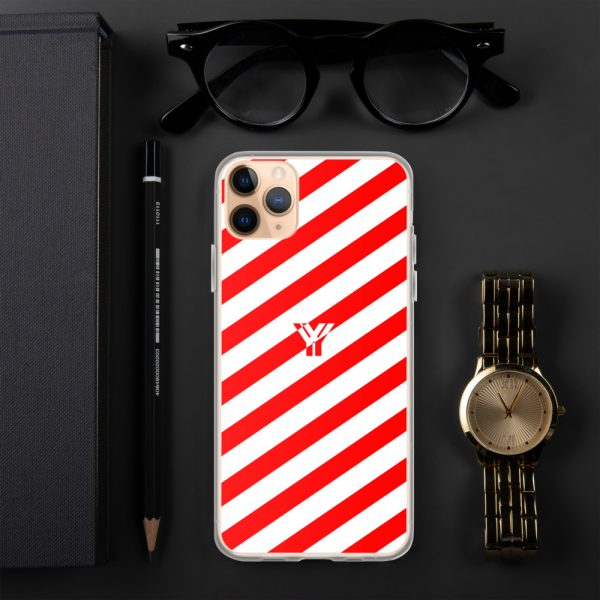 IPhone Hülle white and red collection OBVIOUS 6 mockup 03827a9a