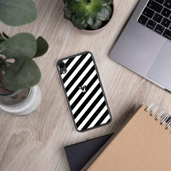 IPhone Hülle white and black collection OBVIOUS 29 mockup 057b554b