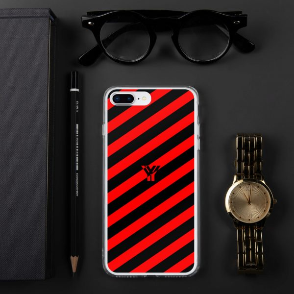 IPhone Hülle black and red collection OBVIOUS 15 mockup 0a9e85ae