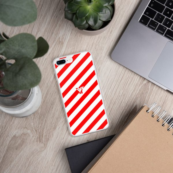 IPhone Hülle white and red collection OBVIOUS 17 mockup 0f9a060b