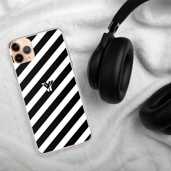 IPhone Hülle white and black collection OBVIOUS 7 mockup 1073a19c