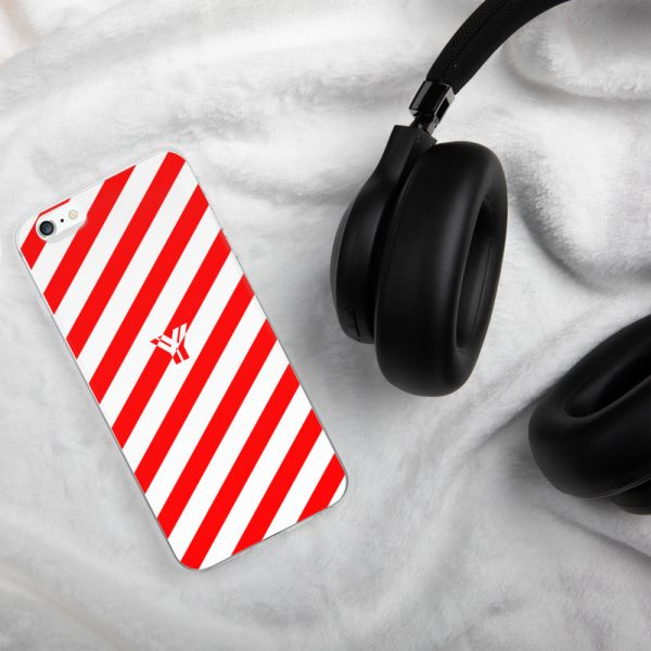 Antony Yorck • IPhone Hülle white and red • Collection OBVIOUS 10 mockup 1b6fd44d