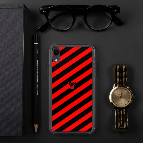 IPhone Hülle black and red collection OBVIOUS 27 mockup 1da94336