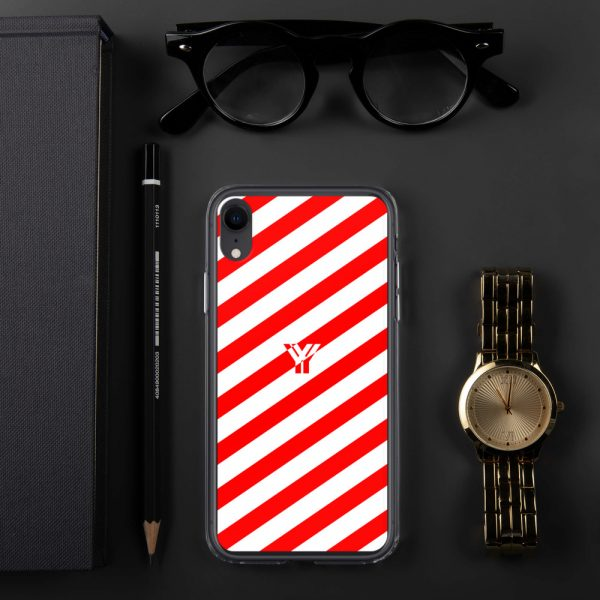 IPhone Hülle white and red collection OBVIOUS 27 mockup 20180d3d