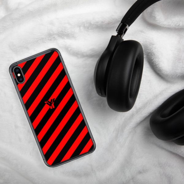 Antony Yorck • IPhone Hülle black and red • Collection OBVIOUS 31 mockup 2c172f0b