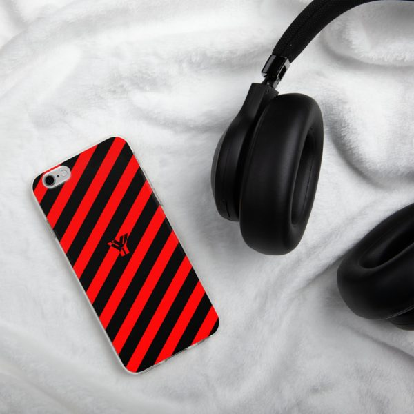 Antony Yorck • IPhone Hülle black and red • Collection OBVIOUS 13 mockup 36cb0c3b