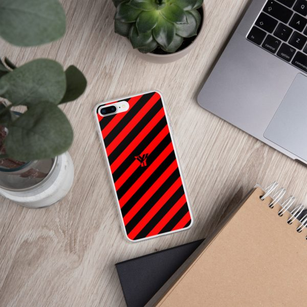 IPhone Hülle black and red collection OBVIOUS 17 mockup 3b77b97a