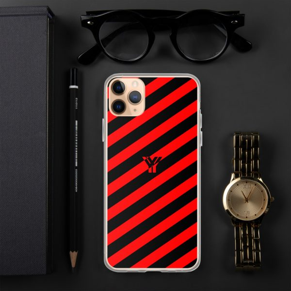 IPhone Hülle black and red collection OBVIOUS 6 mockup 3e549747