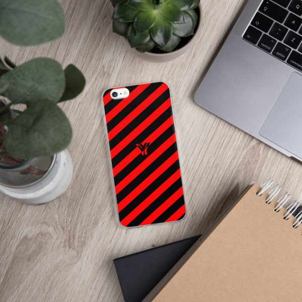 IPhone Hülle black and red collection OBVIOUS 11 mockup 475f8161
