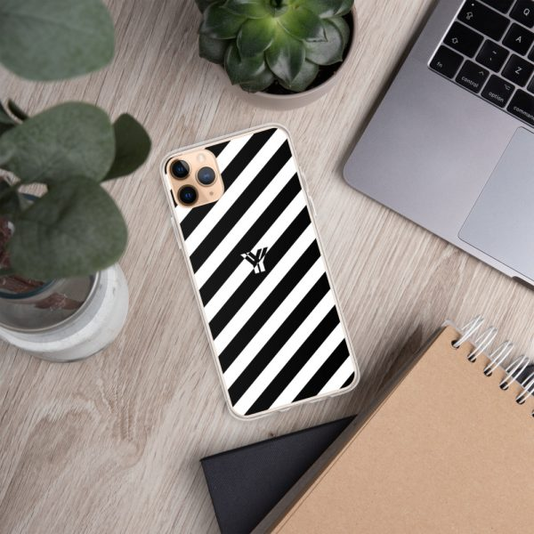 IPhone Hülle white and black collection OBVIOUS 8 mockup 528105f9