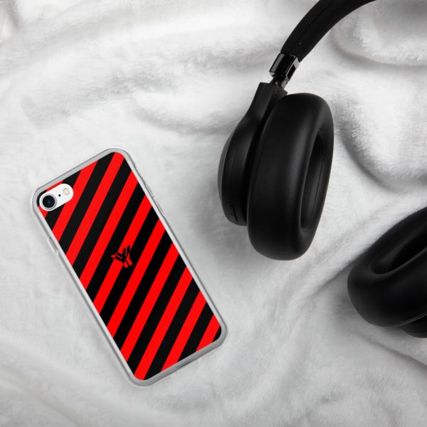 Antony Yorck • IPhone Hülle black and red • Collection OBVIOUS 22 mockup 6ed13b4b