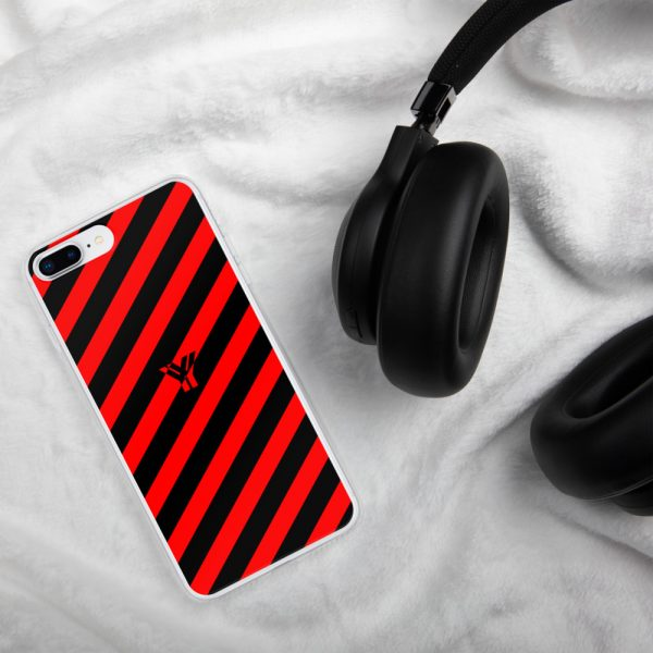 IPhone Hülle black and red collection OBVIOUS 16 mockup 773fea40