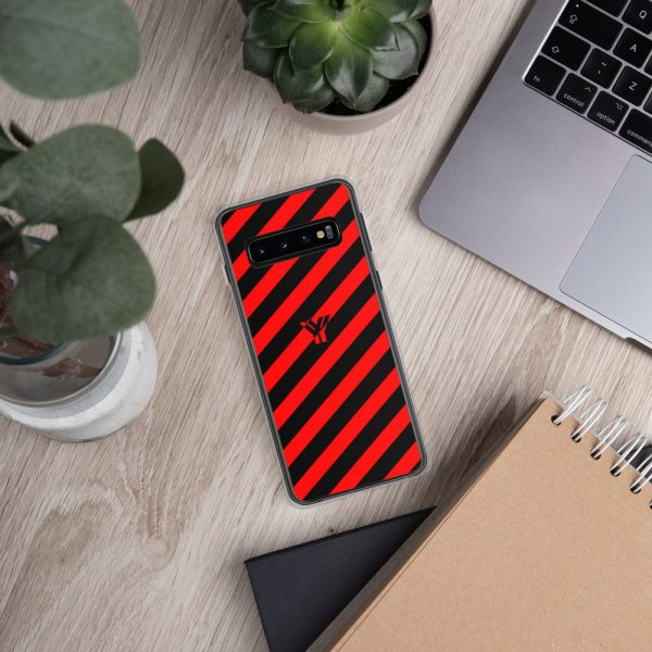 antony yorck accessoire samsung phone cases stripes black and red collection obvious 034