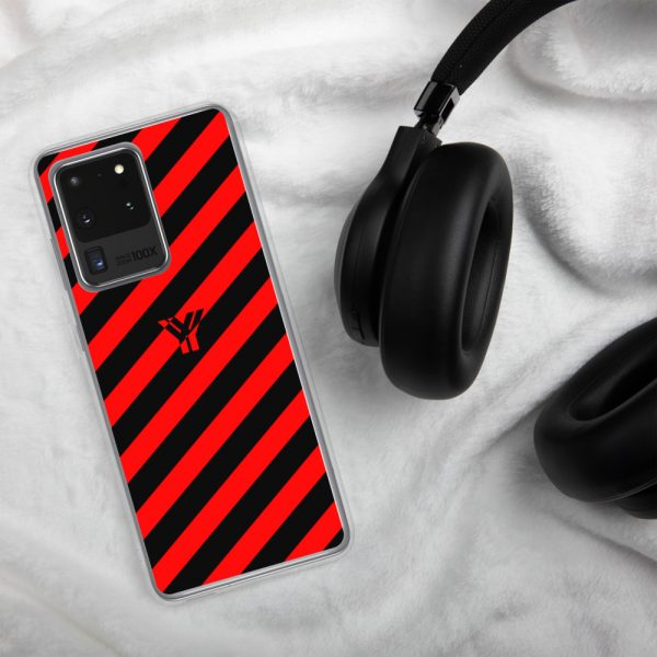 antony yorck accessoire samsung phone cases stripes black and red collection obvious 020