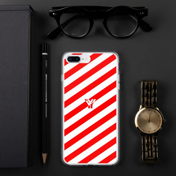IPhone Hülle white and red collection OBVIOUS 15 mockup 7c547129
