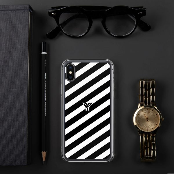 IPhone Hülle white and black collection OBVIOUS 24 mockup 7dd124c4