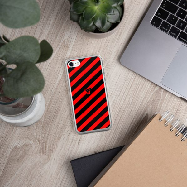 IPhone Hülle black and red collection OBVIOUS 23 mockup 807c813a
