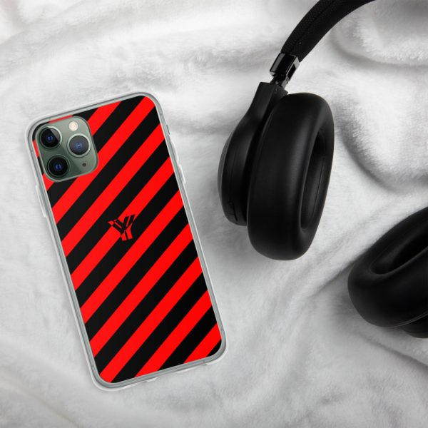 IPhone Hülle black and red collection OBVIOUS 4 mockup 89e74c70