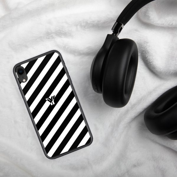 IPhone Hülle white and black collection OBVIOUS 28 mockup 8dc65211