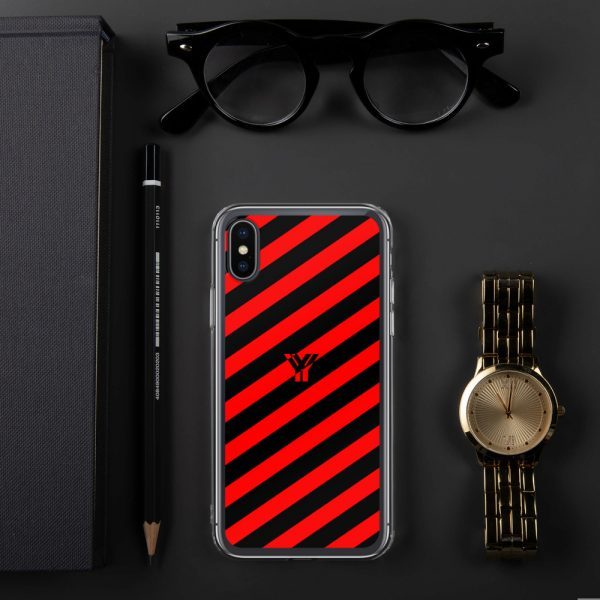 IPhone Hülle black and red collection OBVIOUS 24 mockup 938af198