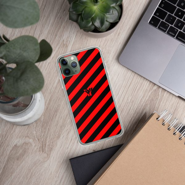 IPhone Hülle black and red collection OBVIOUS 5 mockup 97227844