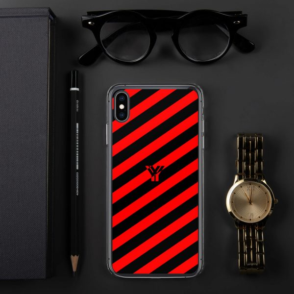 IPhone Hülle black and red collection OBVIOUS 30 mockup 9839f7bf