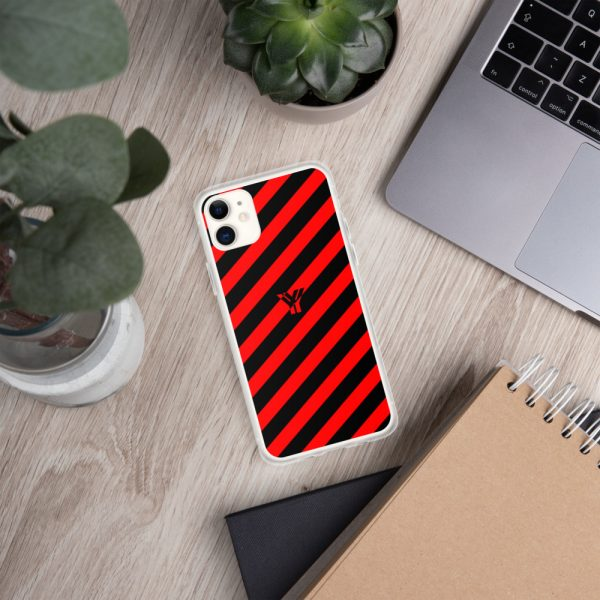 IPhone Hülle black and red collection OBVIOUS 2 mockup a196bf2d