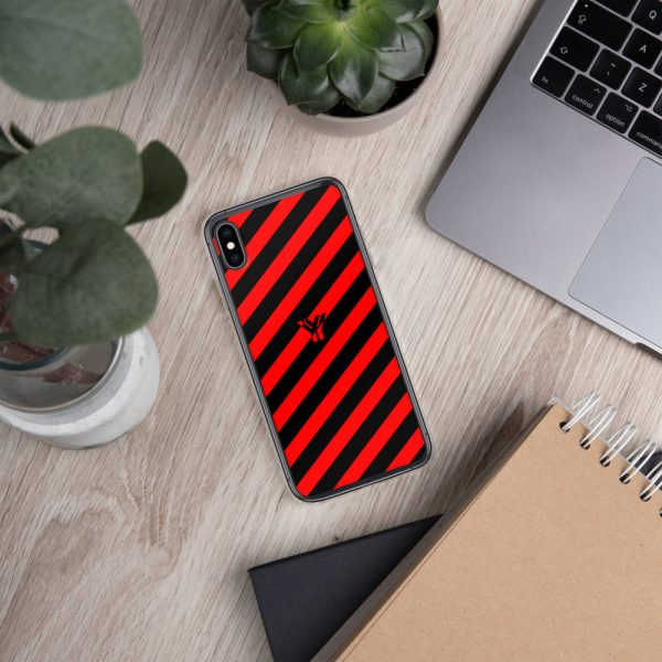 Antony Yorck • IPhone Hülle black and red • Collection OBVIOUS 32 mockup a54f379d
